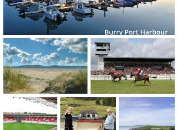 Burry port collage