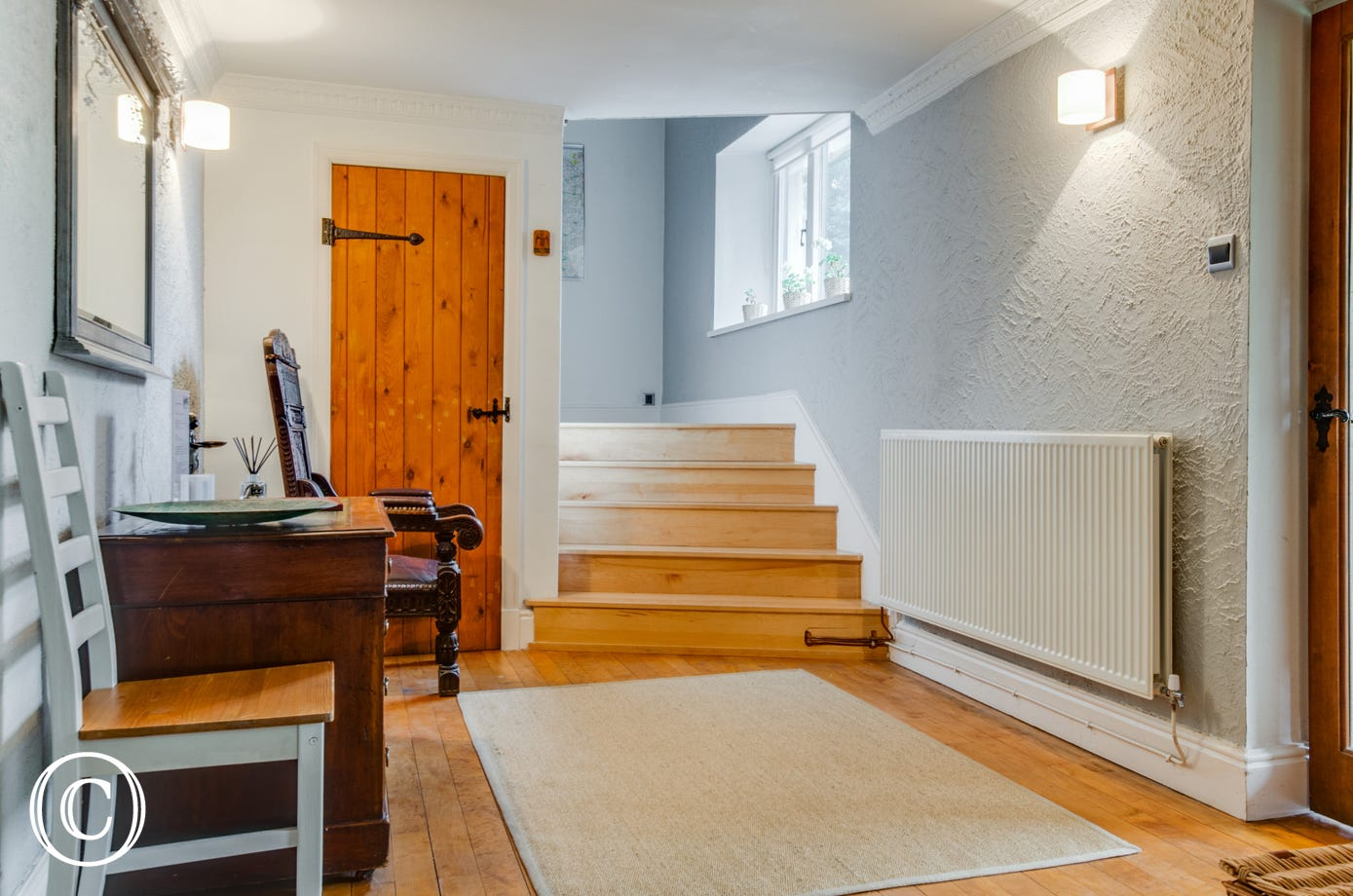 Smart wooden flooring throughout