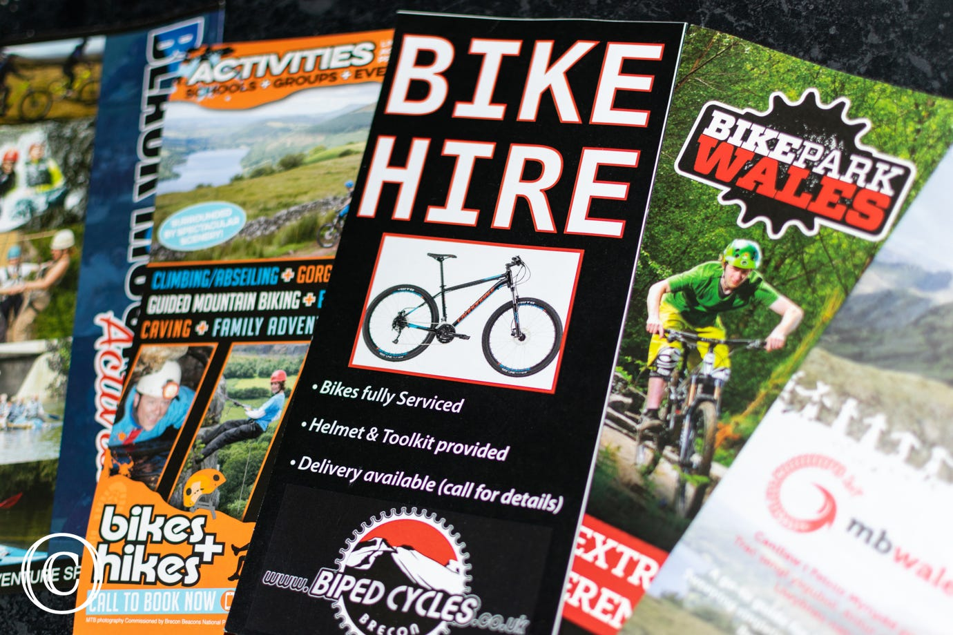 Bike Park Wales, Cwmcarn and Afan Forest Mountain Biking Centres all a short drive away