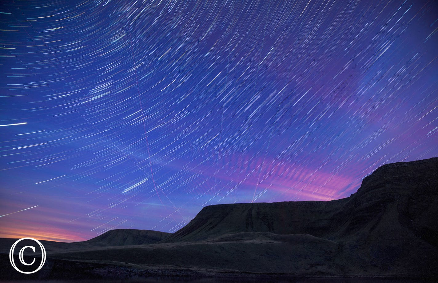 Brecon Beacons National Park is an official dark skies  reserve