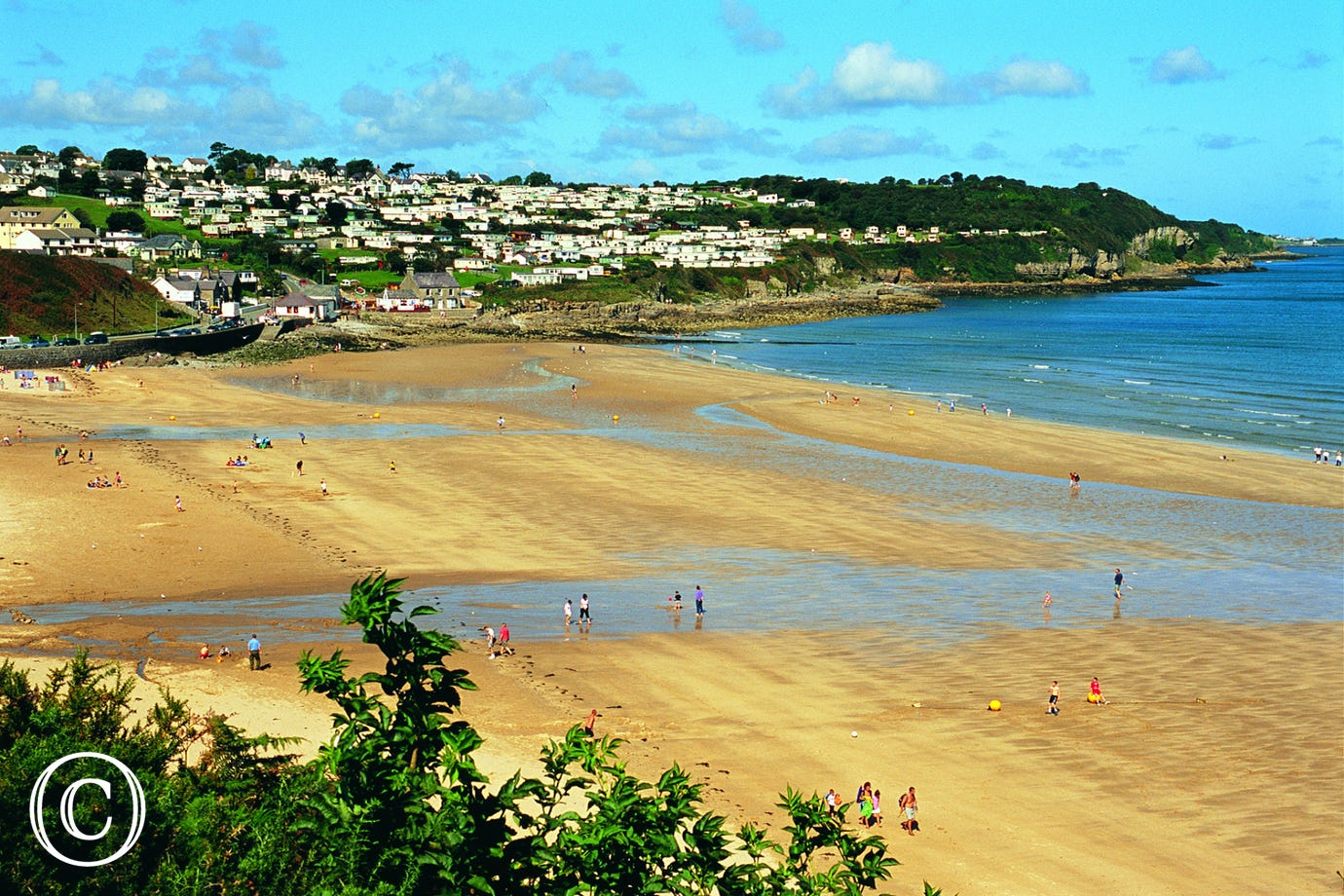 Benllech Beach, just 6.5 miles away