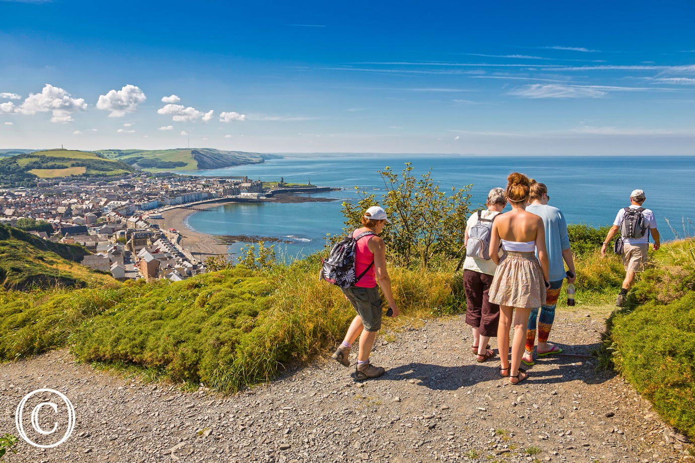 Aberystwyth - At the top of Constitution Hill
