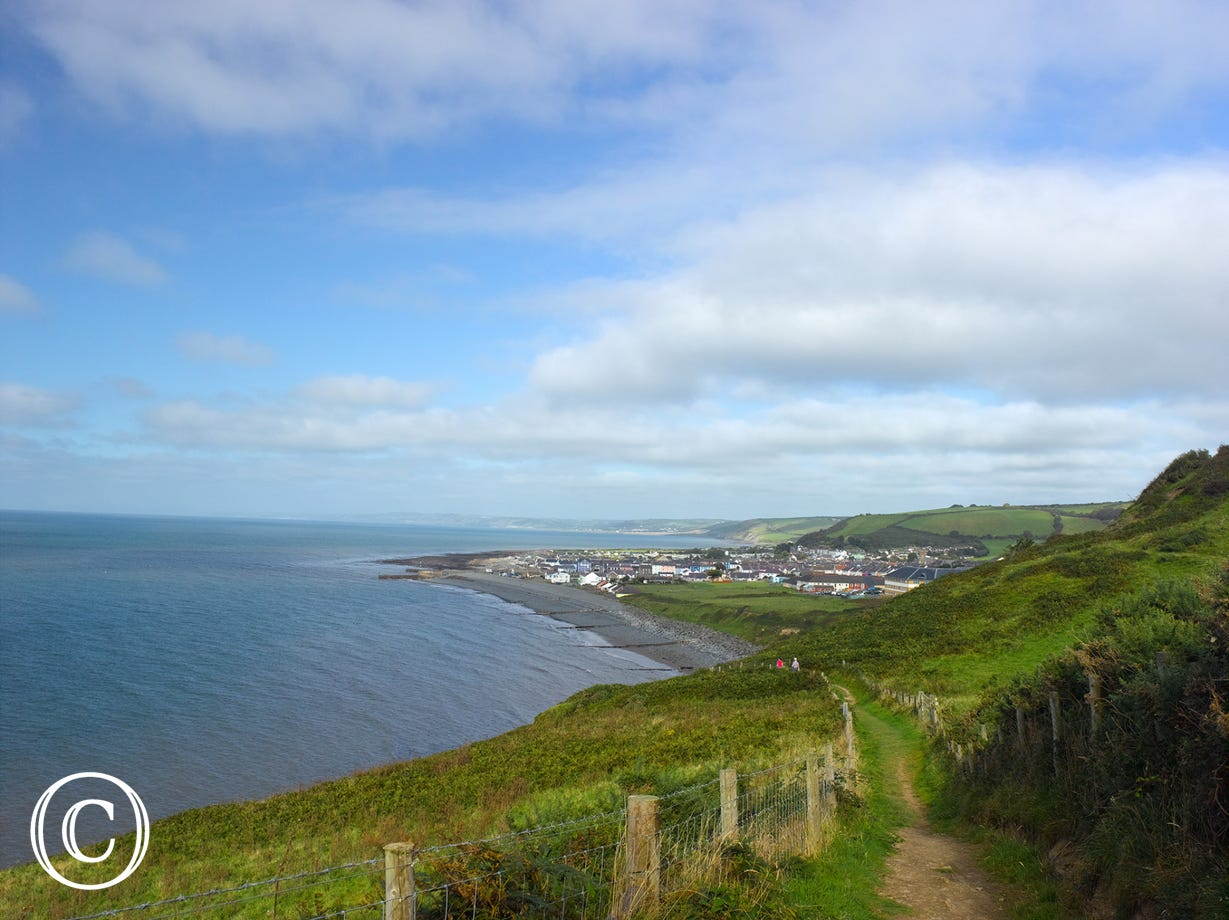 Wales Coast Path - southwest of Aberaeron