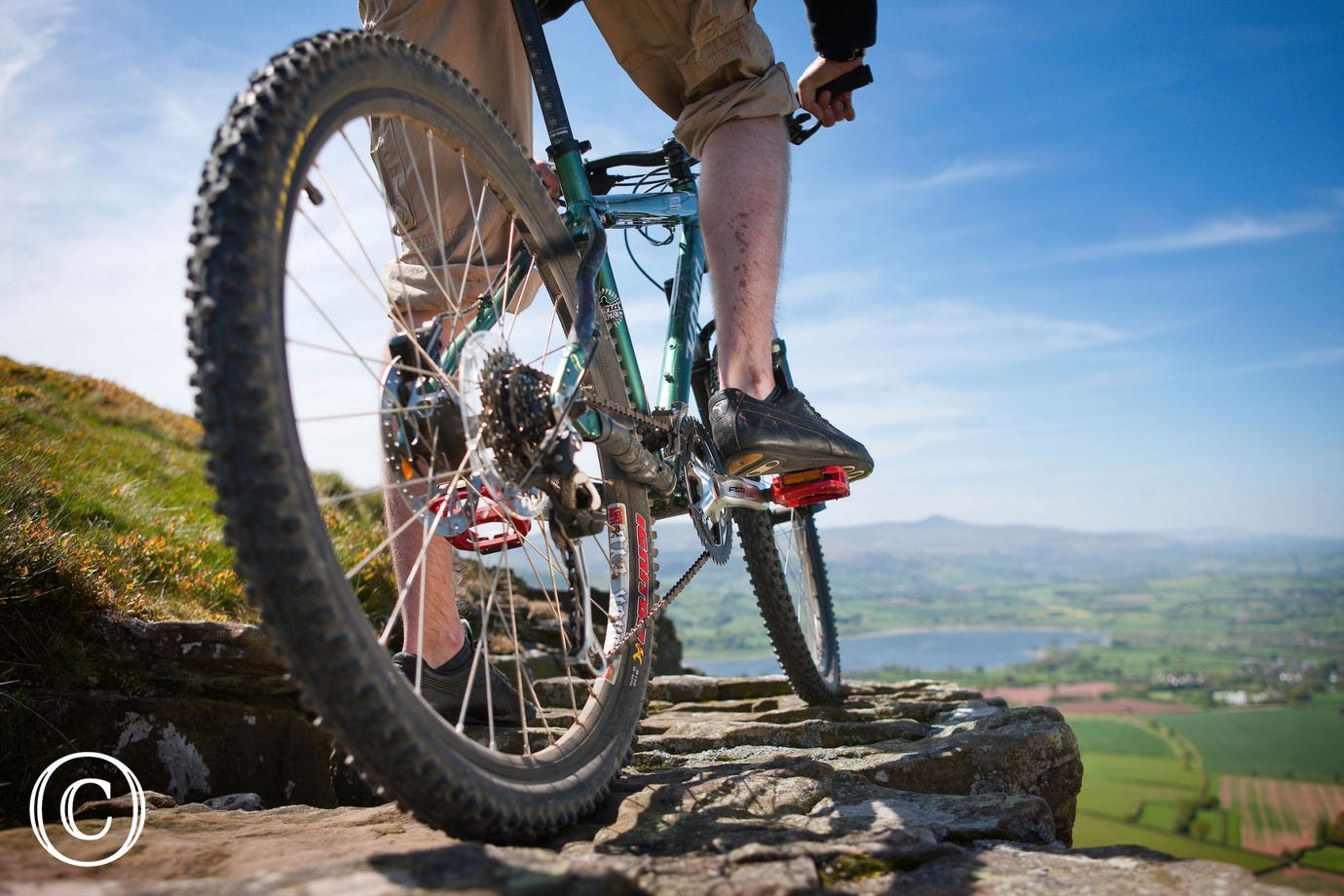 Great mountain biking in the Beacons and at Bike Park Wales