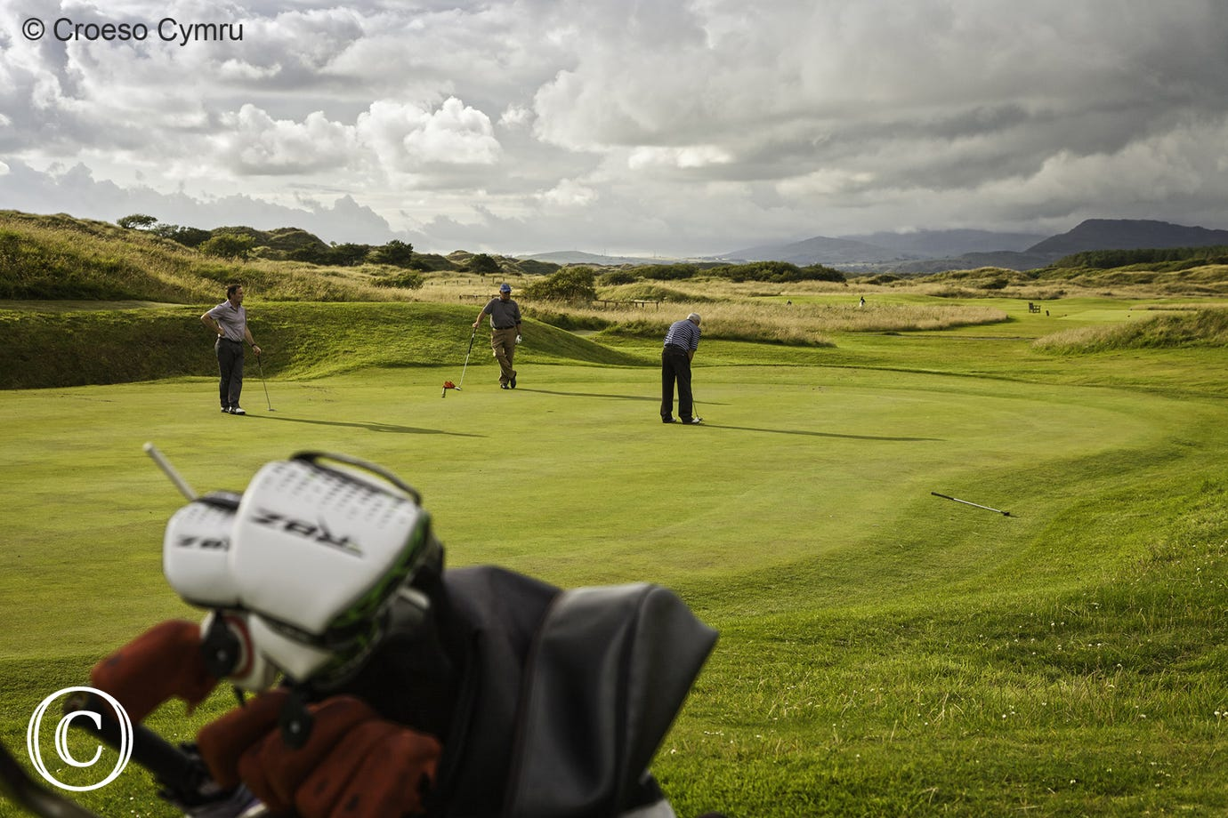 Royal St. David's Golf Course in Harlech