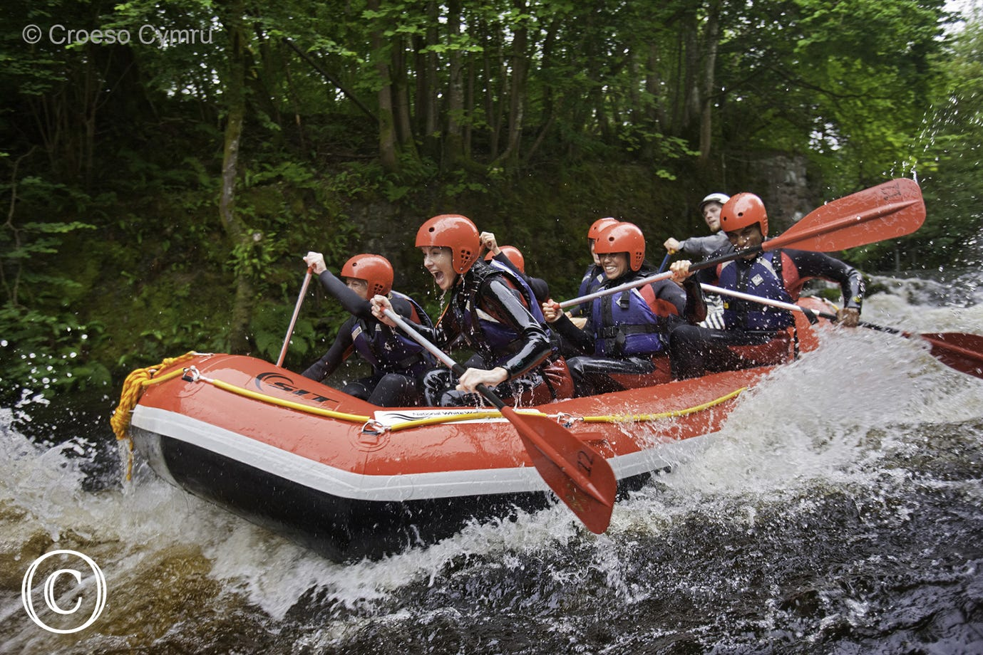 National White Water Centre near Bala