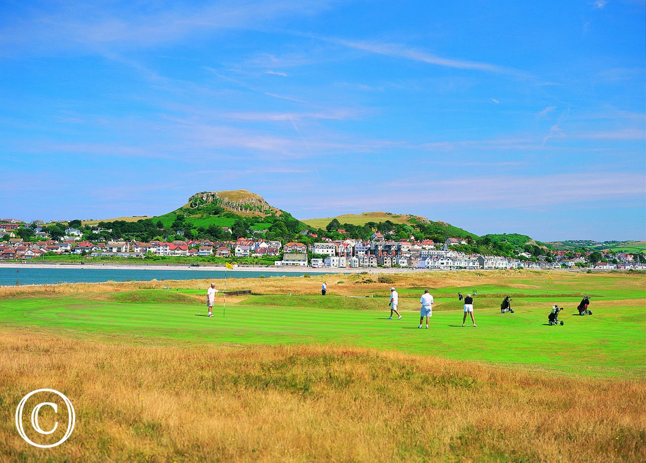 Conwy's world renowned golf course
