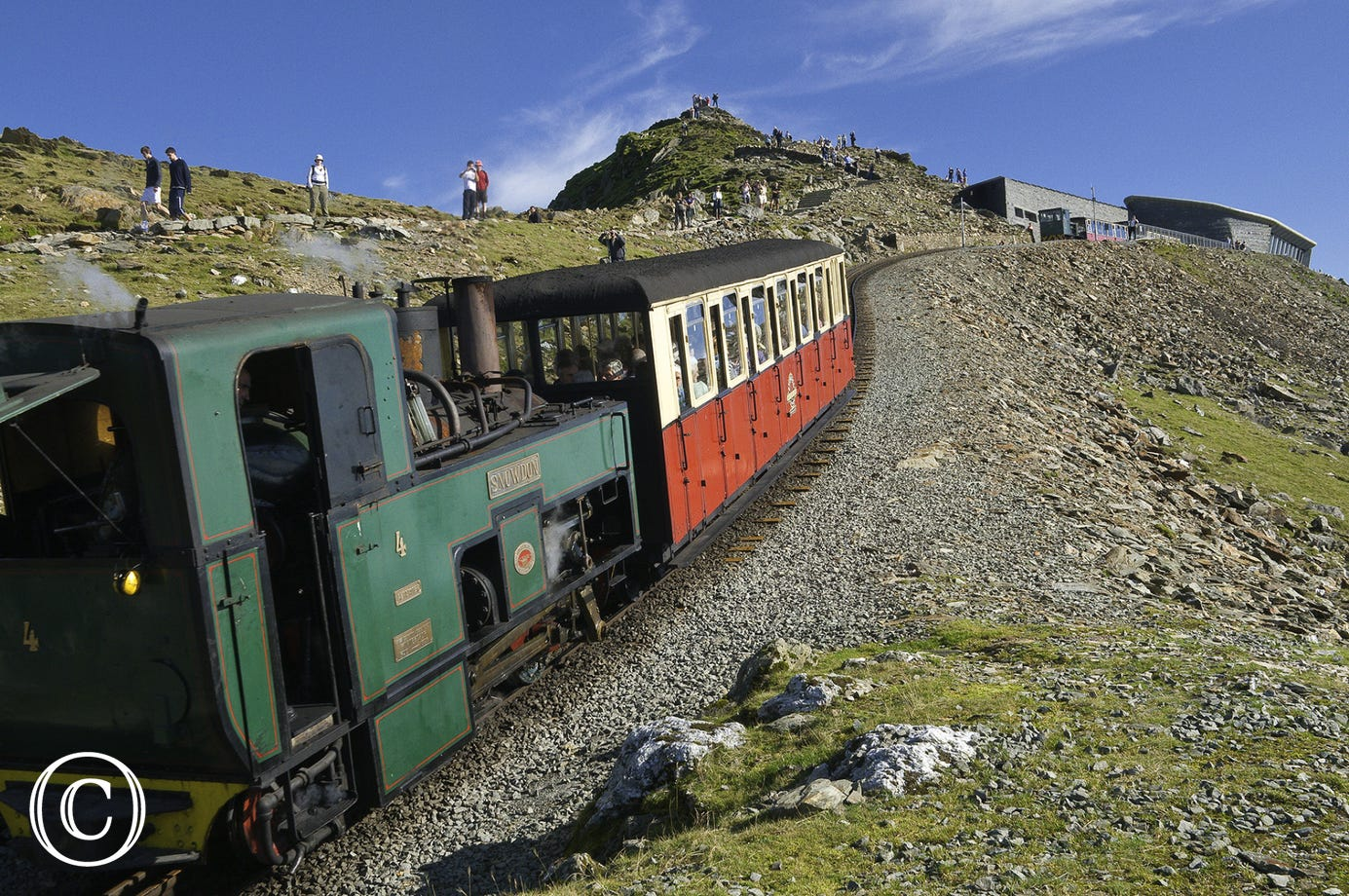 Train to the top of Snowdon