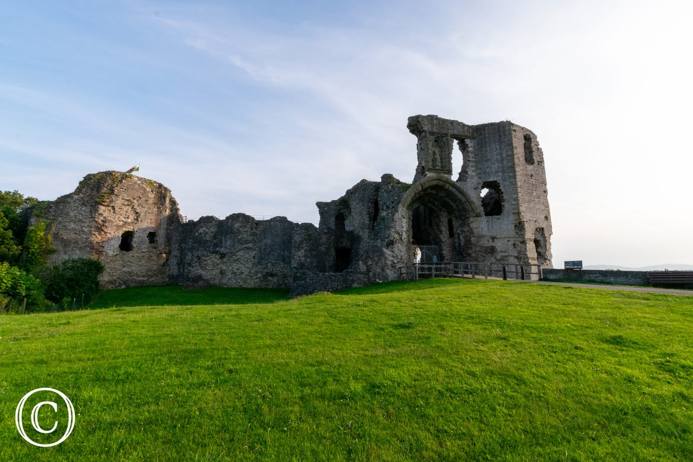 Denbigh Castle (9 miles) - one of many castles in the area