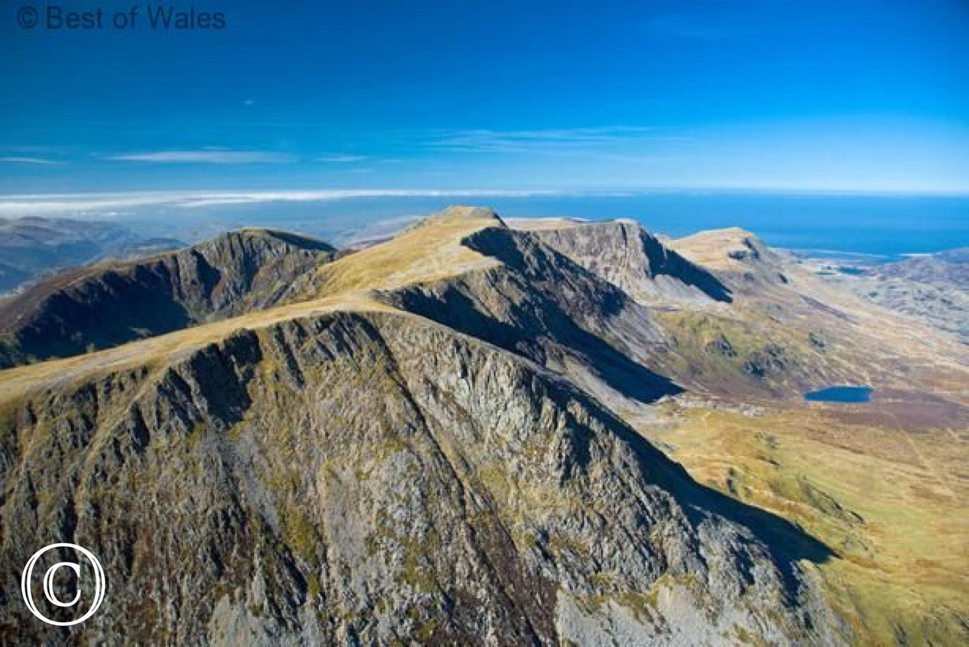 Walk to the peak of Cadair Idris to get this rewarding view