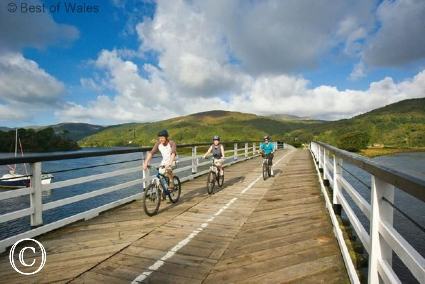 Walk or cycle the Mawddach Trail and enjoy the magnificent views
