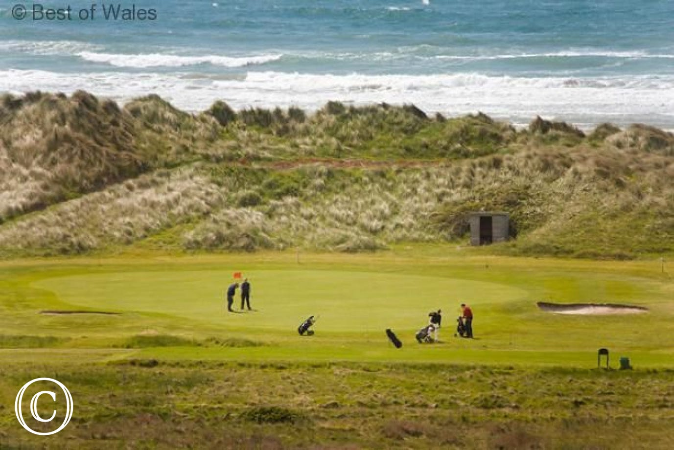 Aberdyfi (9 miles) also has a renowned 18 hole golf course.