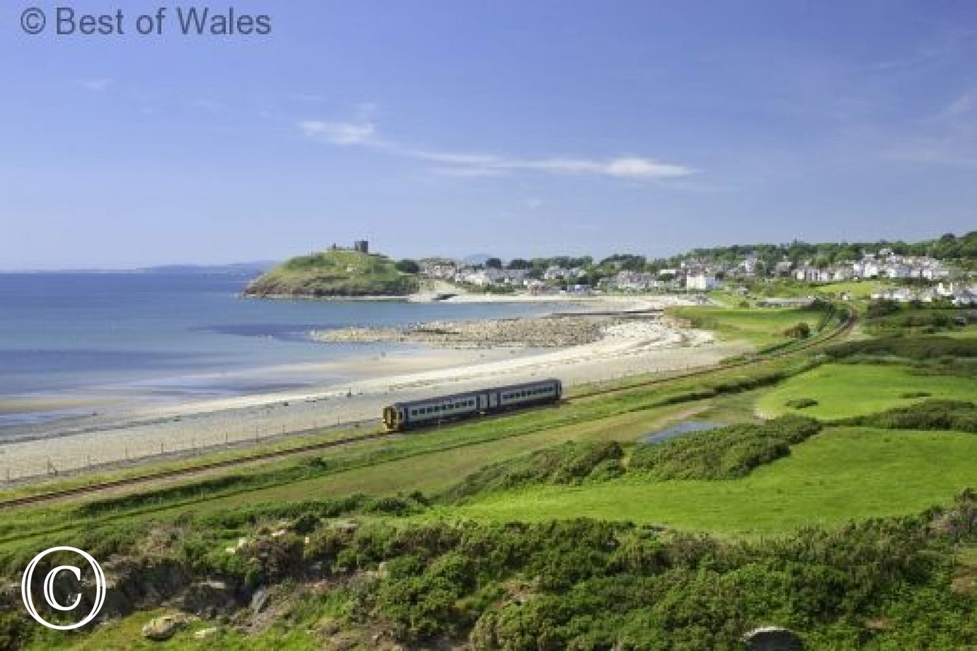 Spend a day travelling along the Cambrian Coast Railway Line