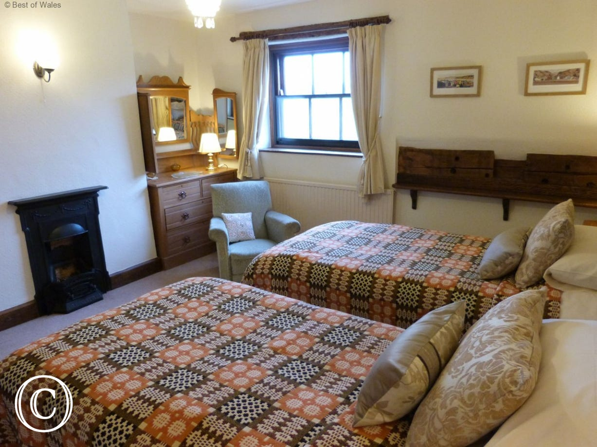 Welcoming St Asaph accommodation - original bedroom grate