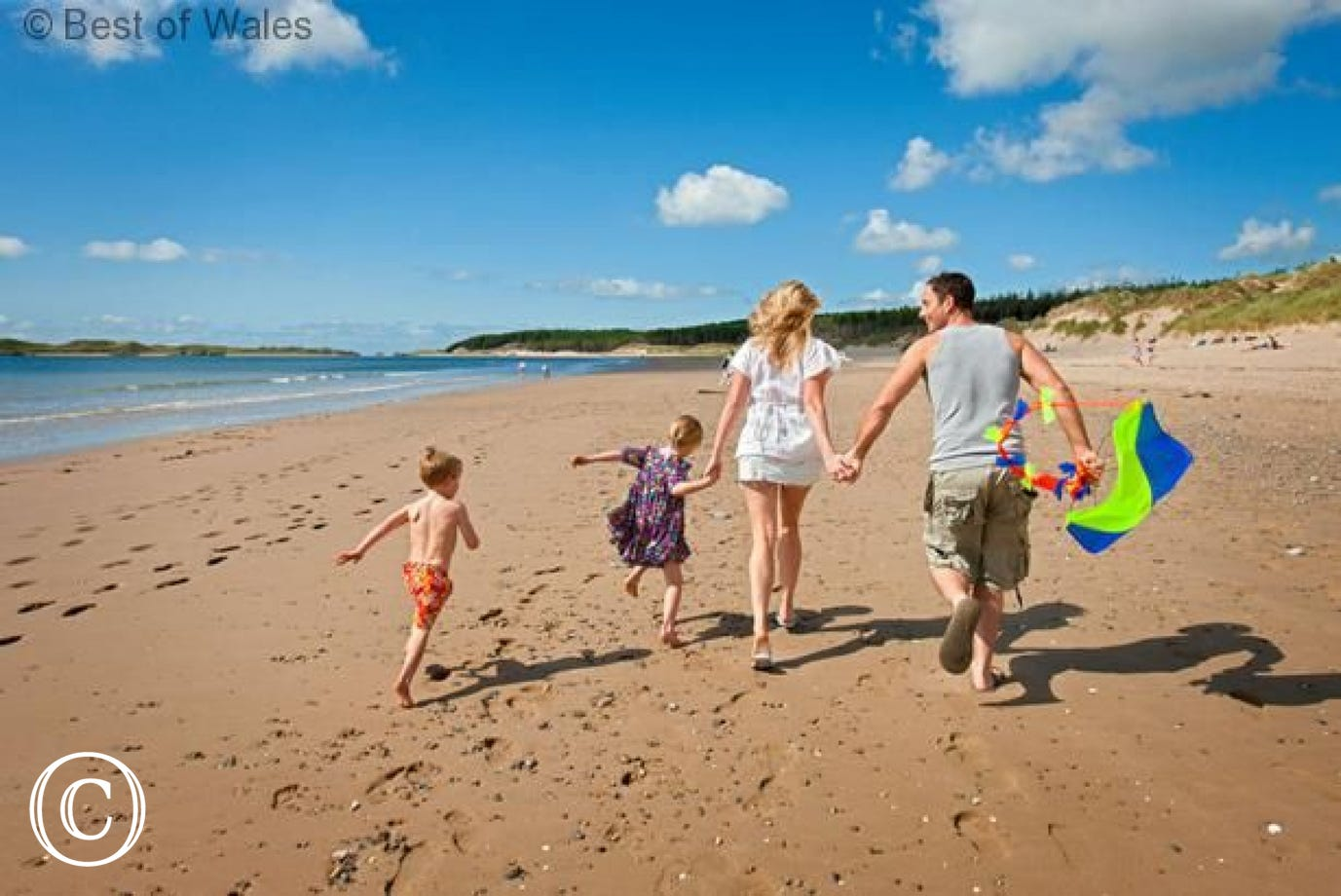 Great family friendly beaches nearby