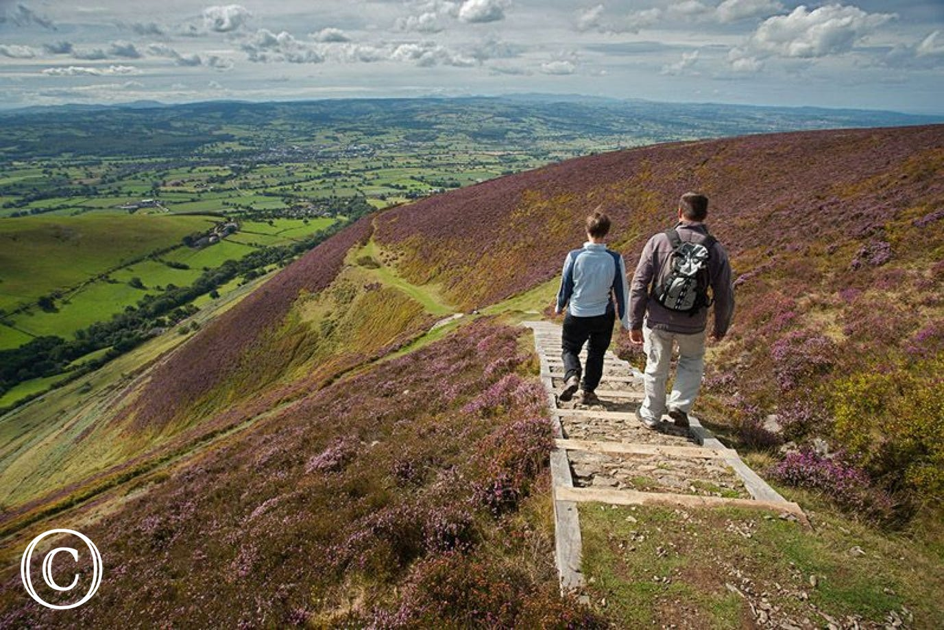 Moel Fenlli - a beautiful section of Offa's Dyke Path