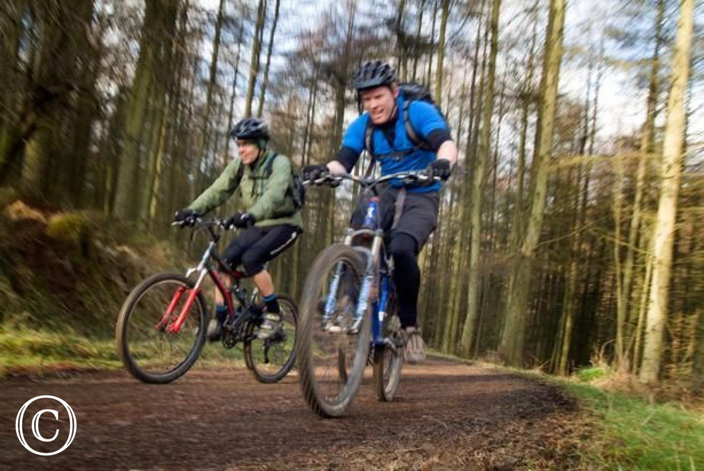 Plenty of cycling and mountain biking opportunities available nearby