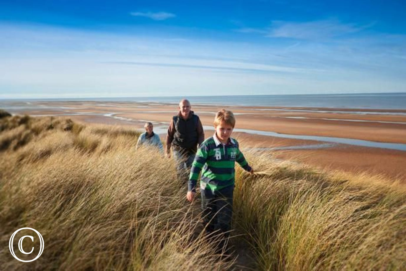 Walk the Gronant Dunes, also part of the beautiful Wales Coast Path