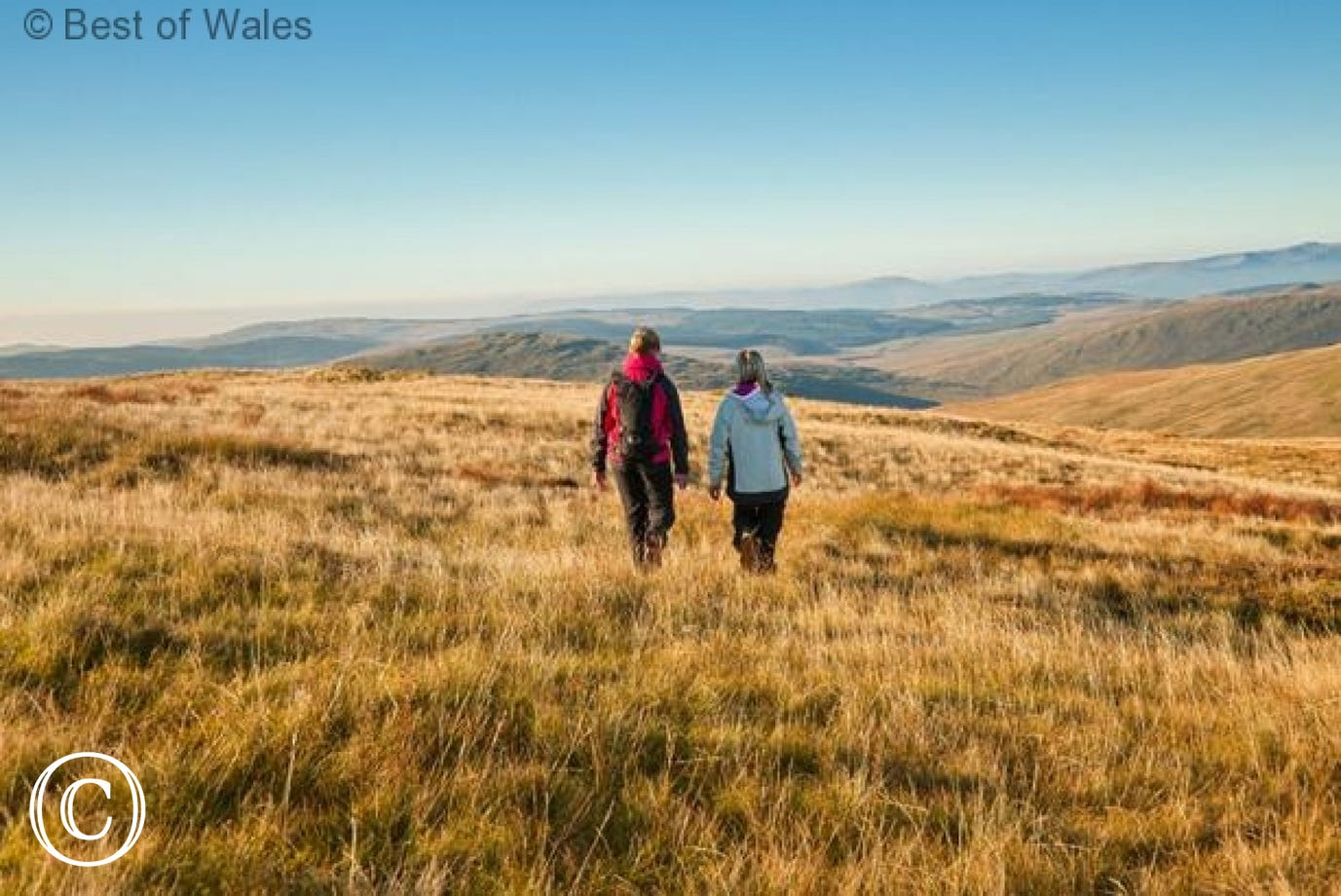 Walking in the Brecon Beacons National Park