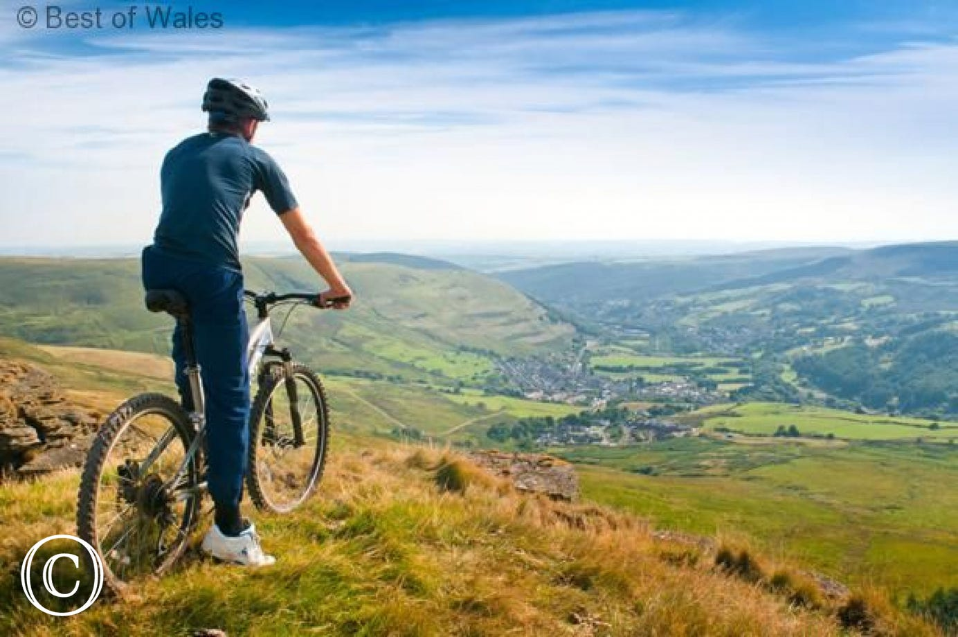 Overlooking Ogmore Valley from Bwlch-y-Clawdd. Route starts 8 miles away (Sarn Loop via Bwlch and Caerau bike ride)