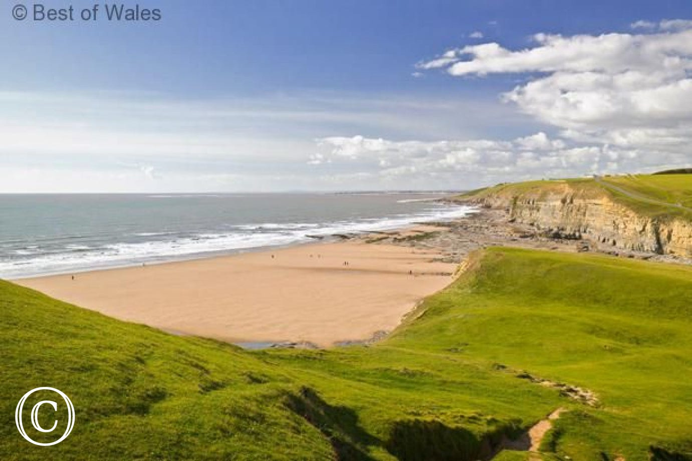 Dunraven Bay: one of many beaches along the Glamorgan Heritage Coast