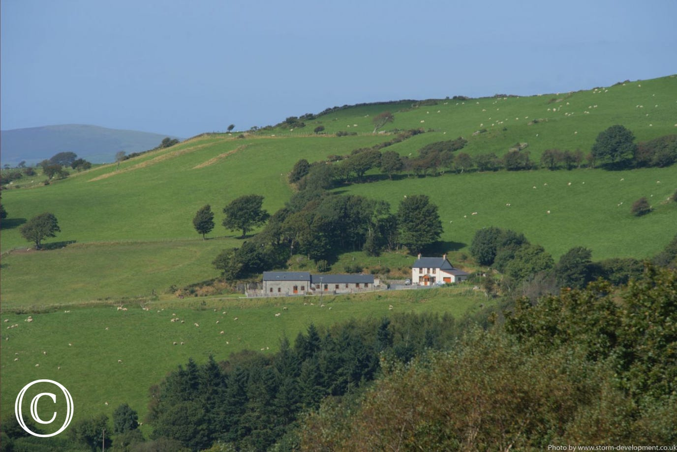 One of two 5 star cottages in a wonderful countryside setting near the coast. Photo by Storm Development
