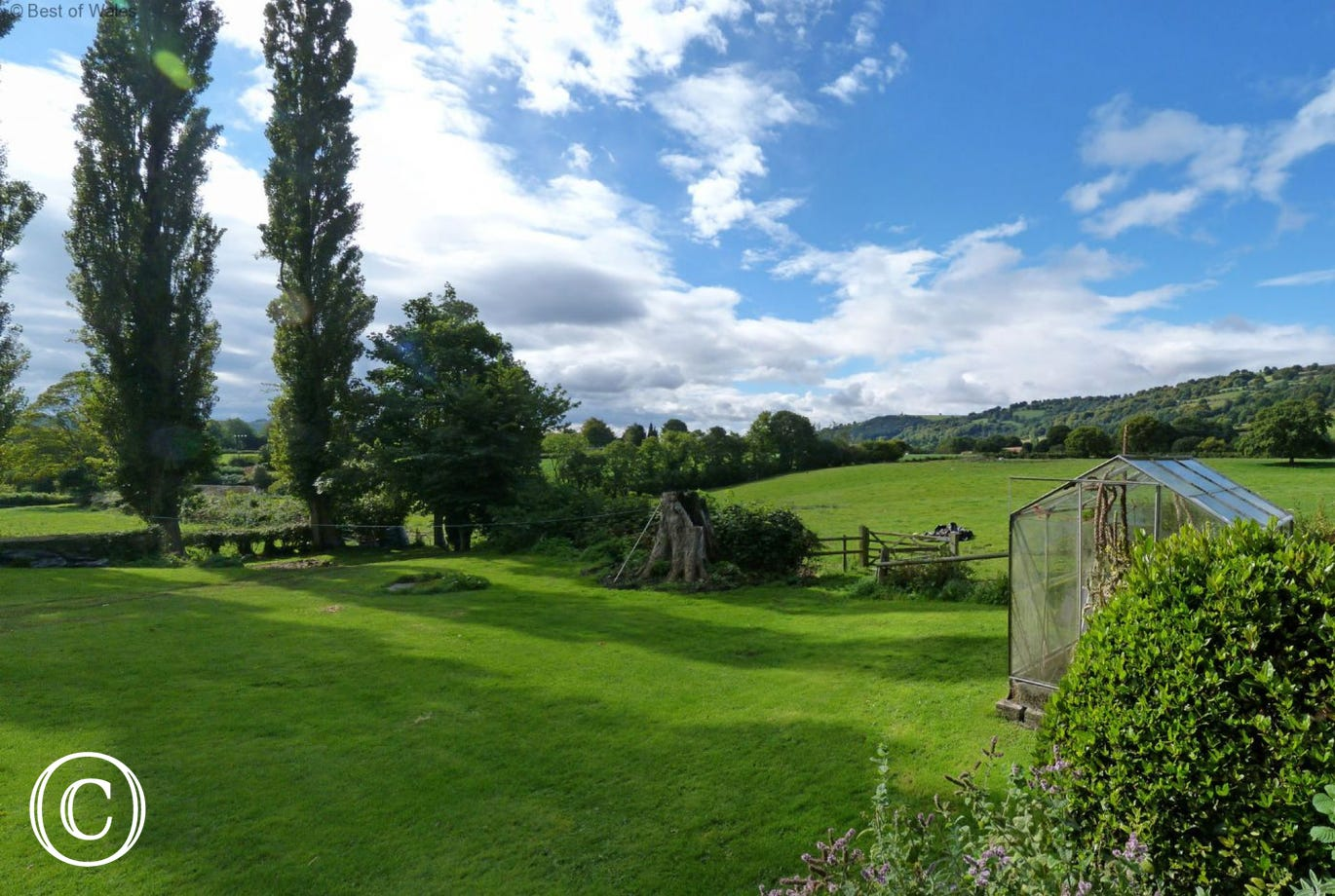 Lovely gardens with glorious views