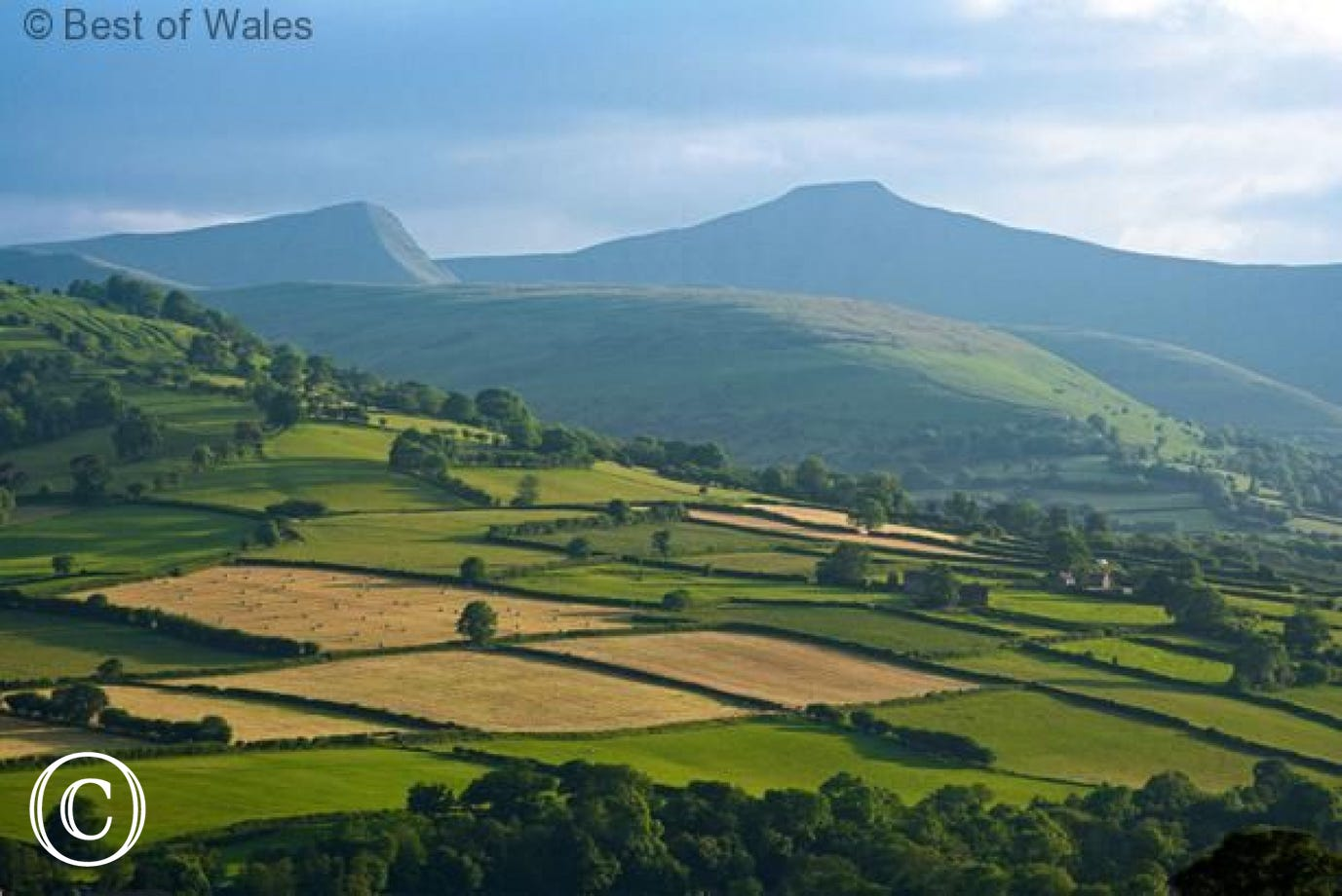 Stunning scenery of the Brecon Beacons