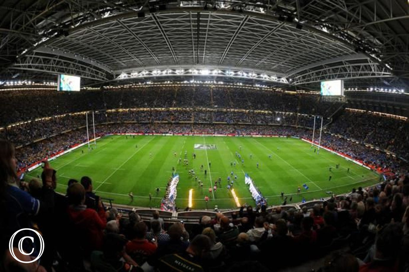 Cardiff and the Millennium Stadium is only a short drive away