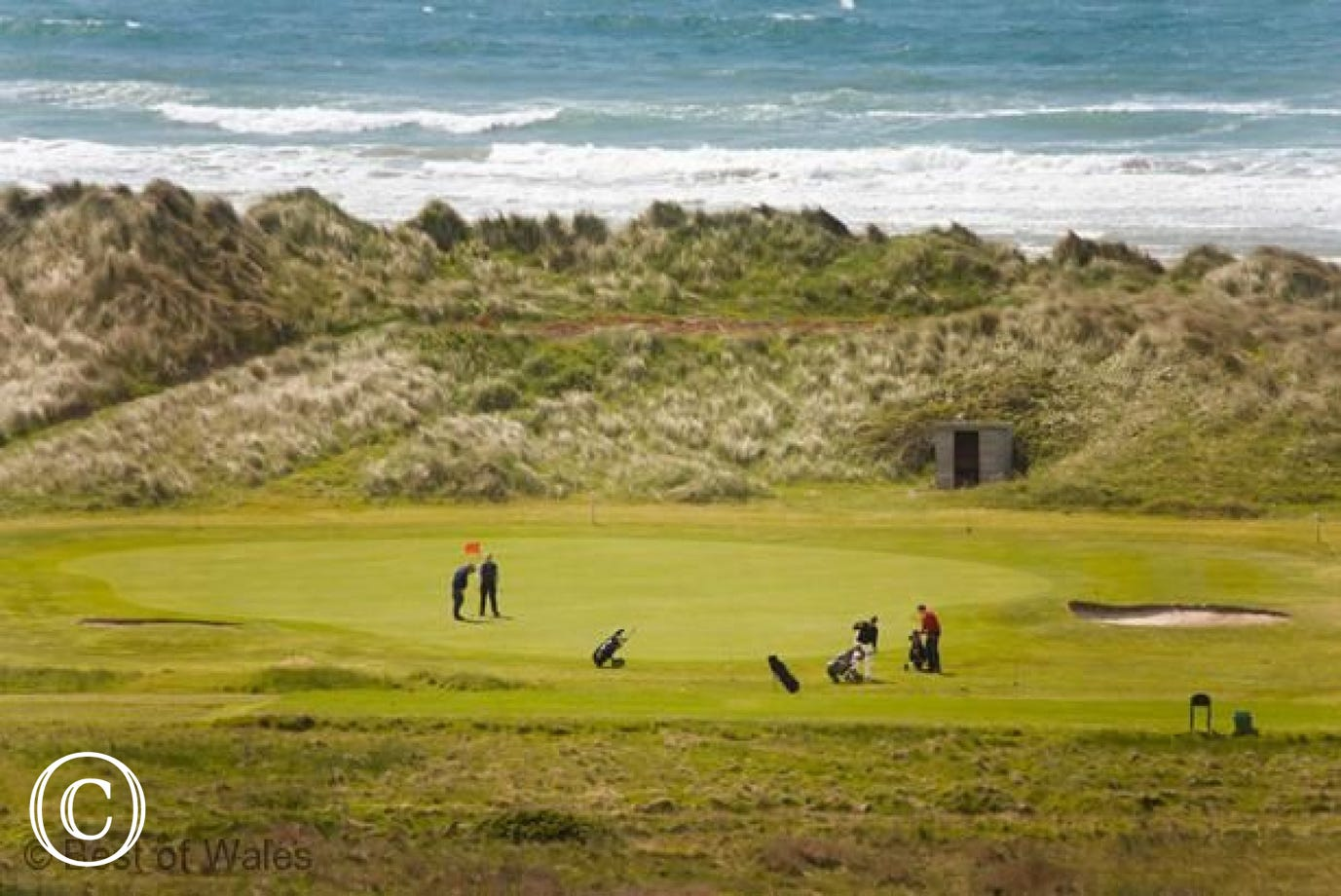 Aberdyfi (11.5 miles) also has a renowned 18 hole golf course.