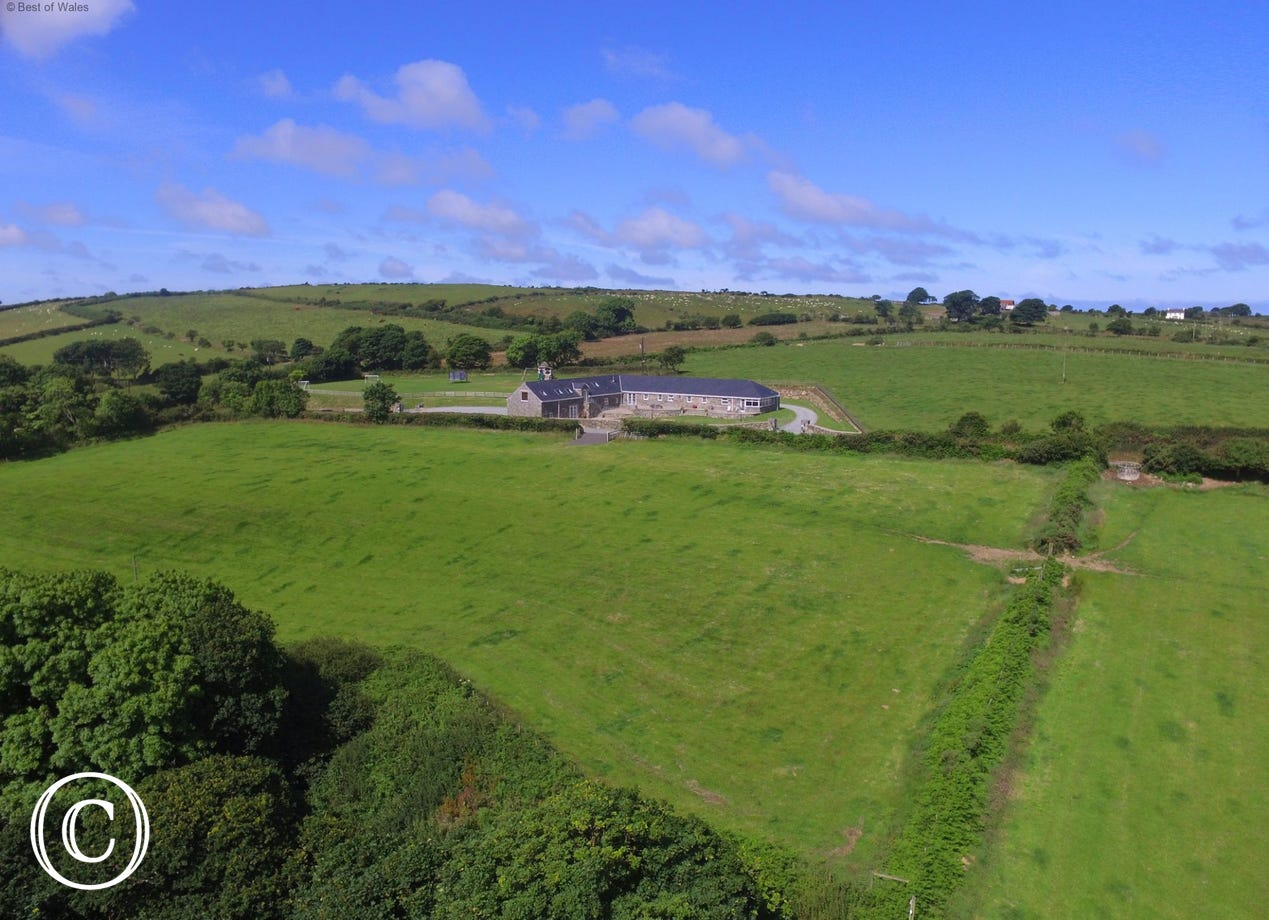 Enjoy the tranquil countryside that surrounds this detached cottage