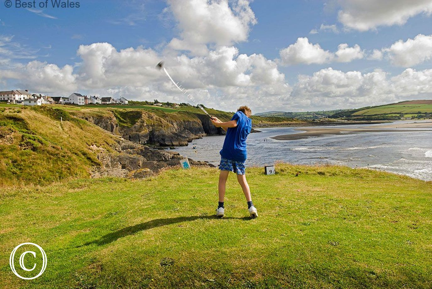 Golf in Cardigan