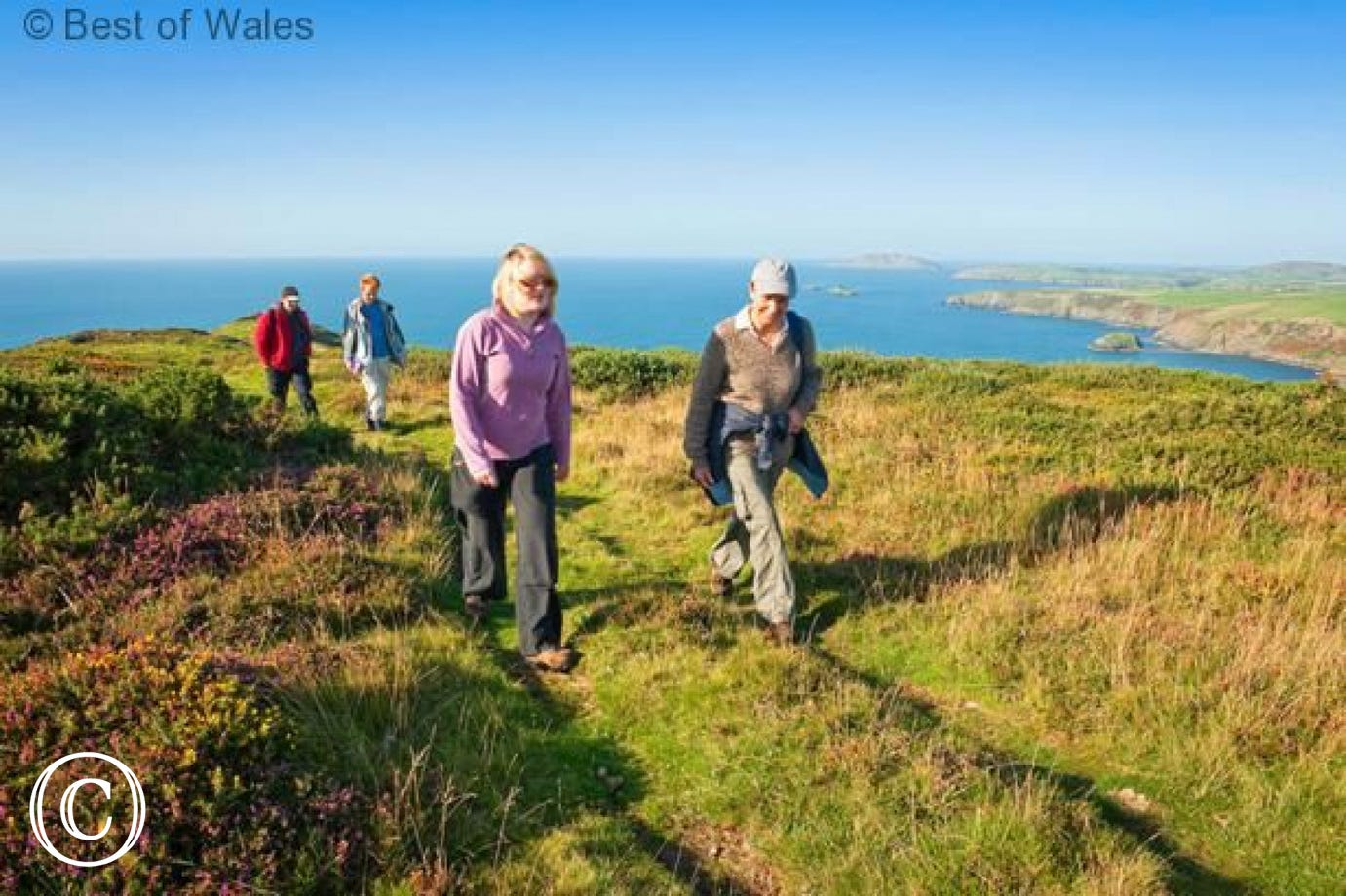Absorb the fresh air and stunning views along the Llyn coastal path