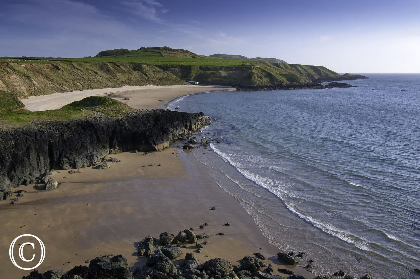 Poeth Oer (5.5 miles) where the sand sometimes 'whistles' under your feet