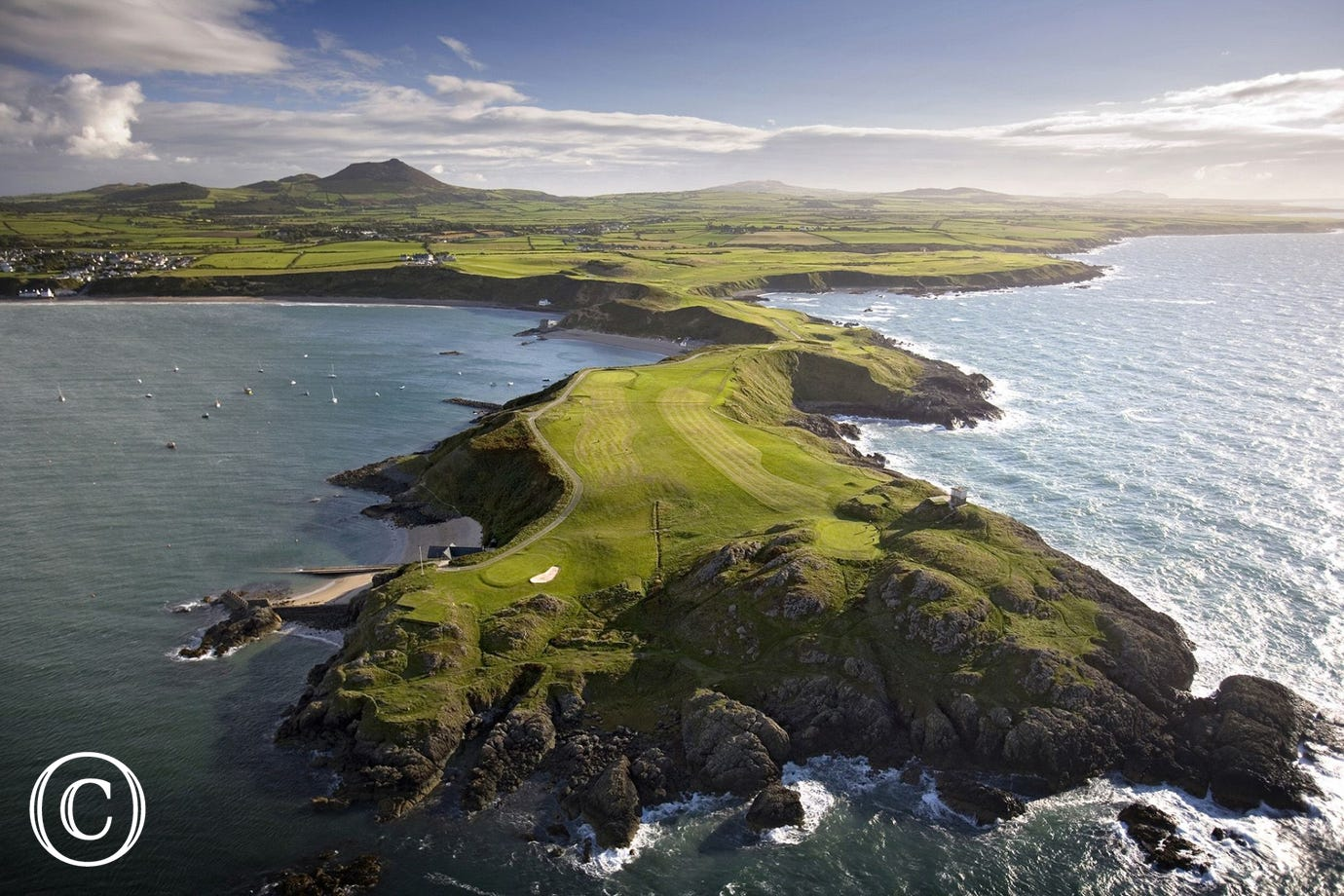 One of the most spectacular golf courses in the world at Morfa Nefyn