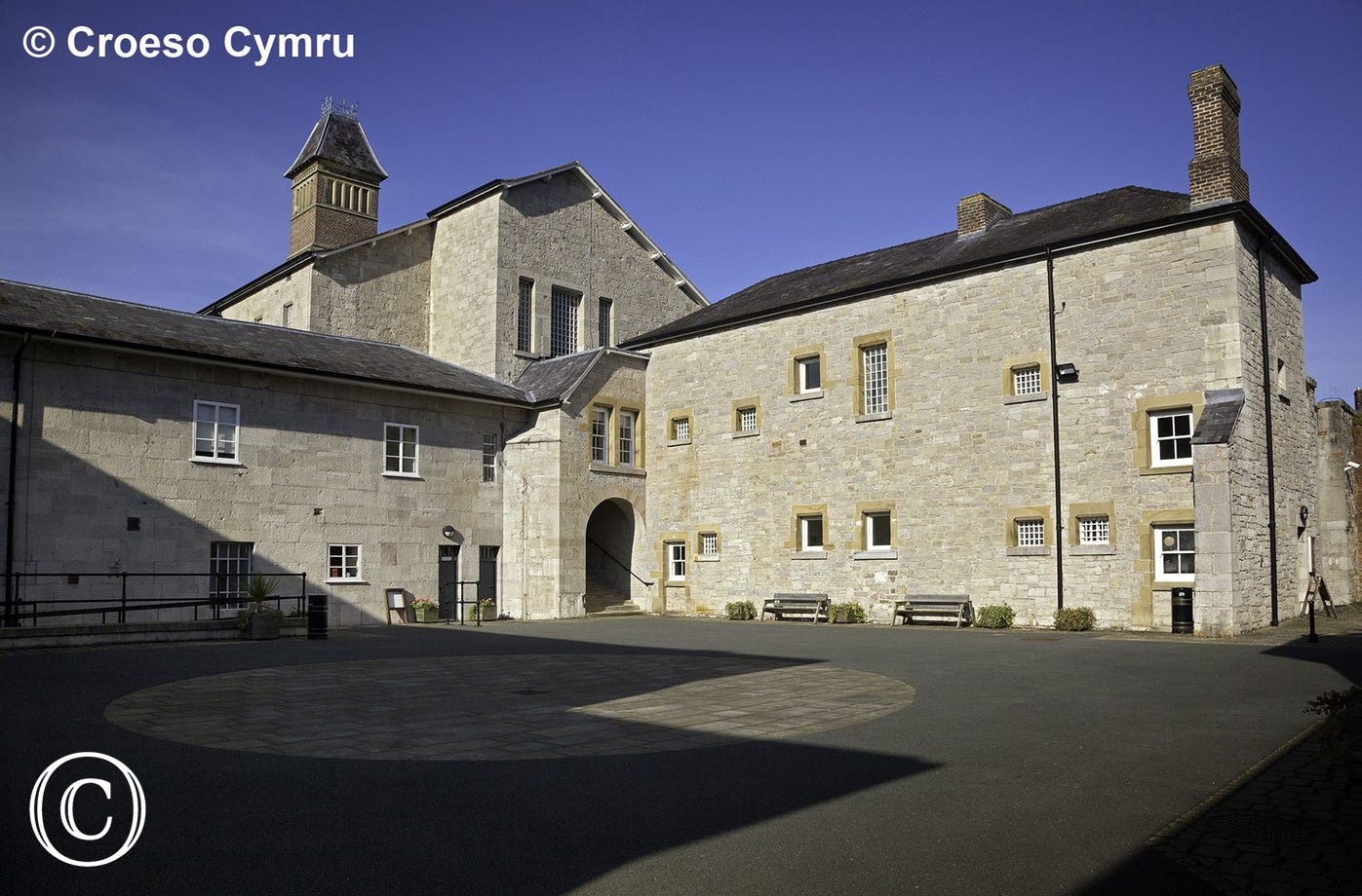 Ruthin Gaol, a historic visitor attraction just 10 miles from the cottage