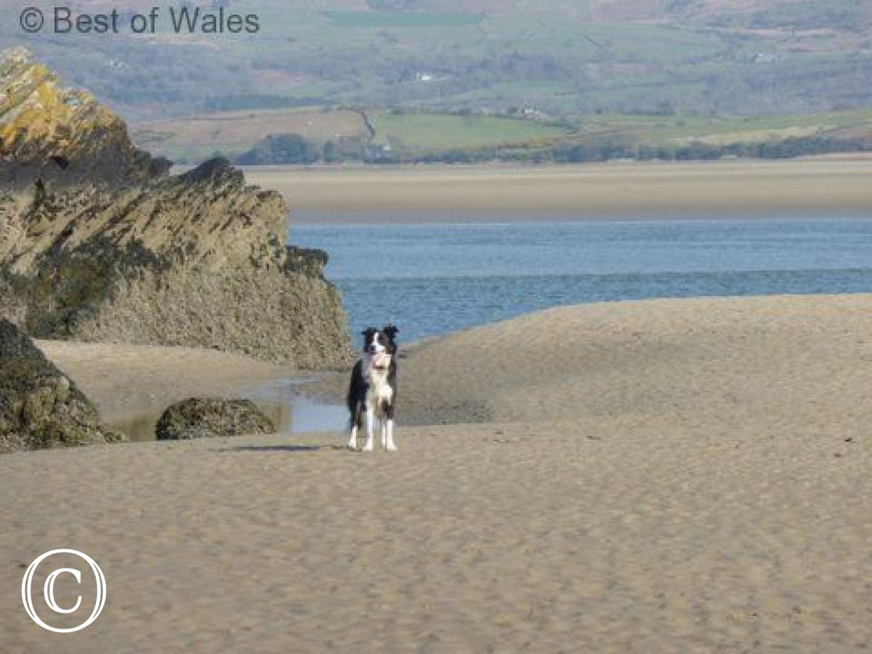 North Wales self catering holiday: one of many beautiful beaches nearby