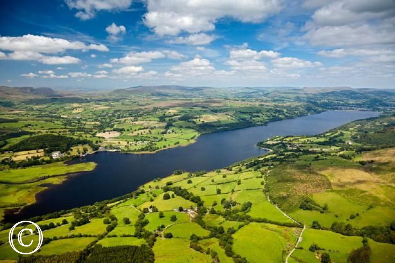5 miles from your holiday cottage Bala Lake (Llyn Tegid) is the largest natural lake in Wales