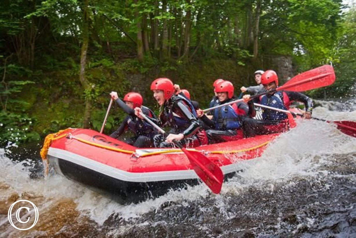 National White Water Centre, 11 miles from your holiday cottage Bala