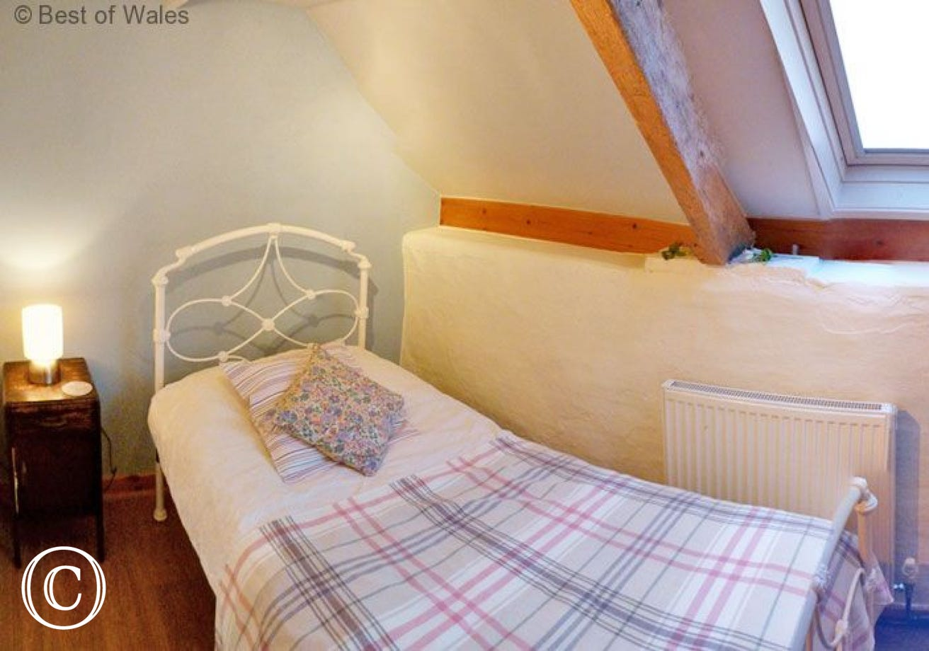 St Clears self catering cottage  - Single bedroom
