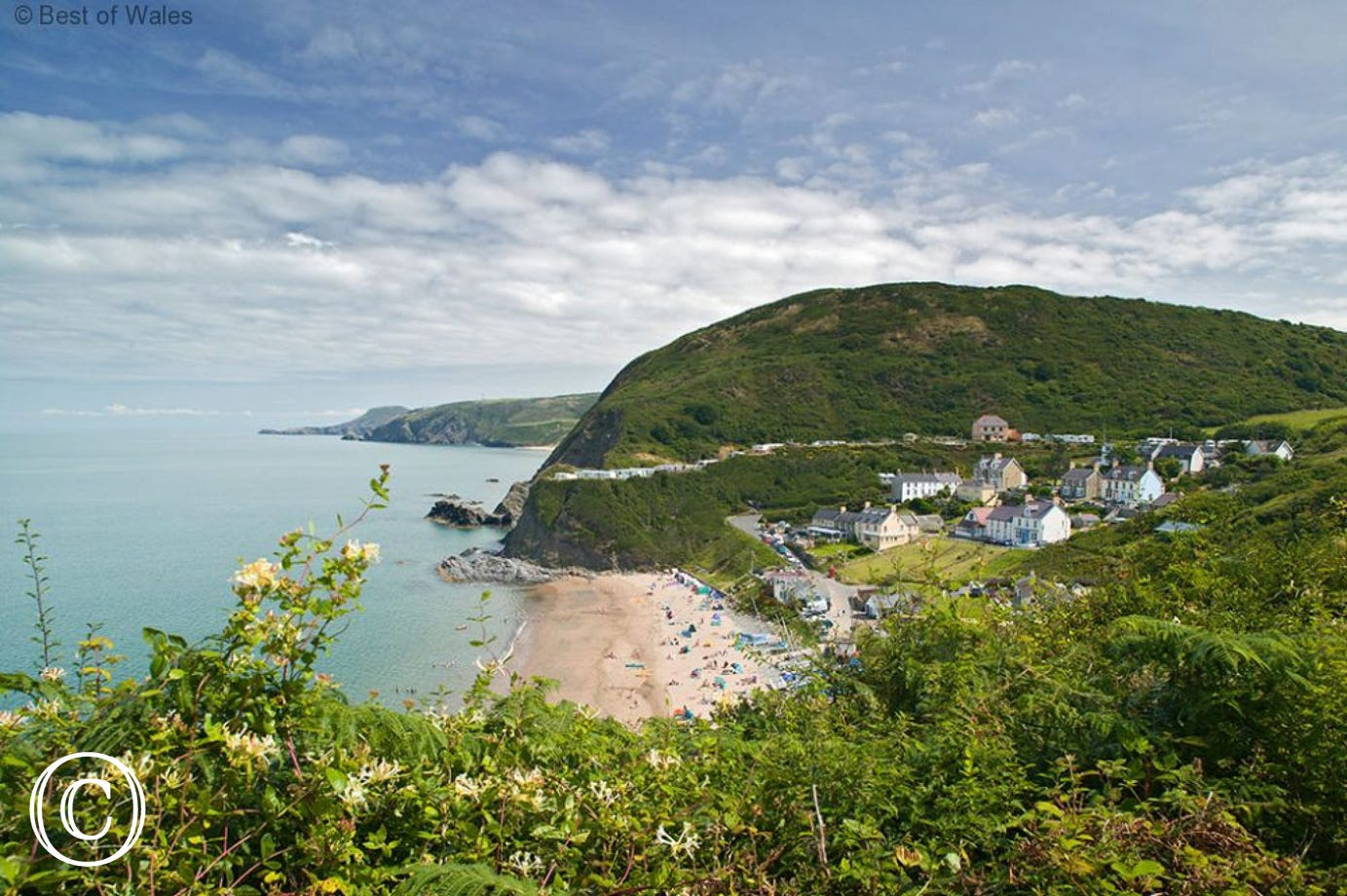Tresaith is one of the great beaches nearby