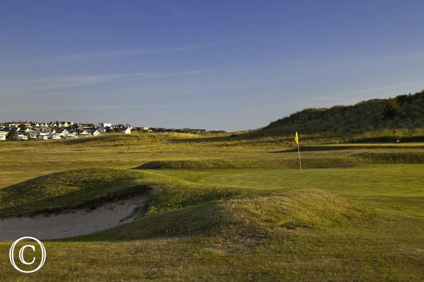 Enjoy a round of golf at Rhosneigr Golf Club