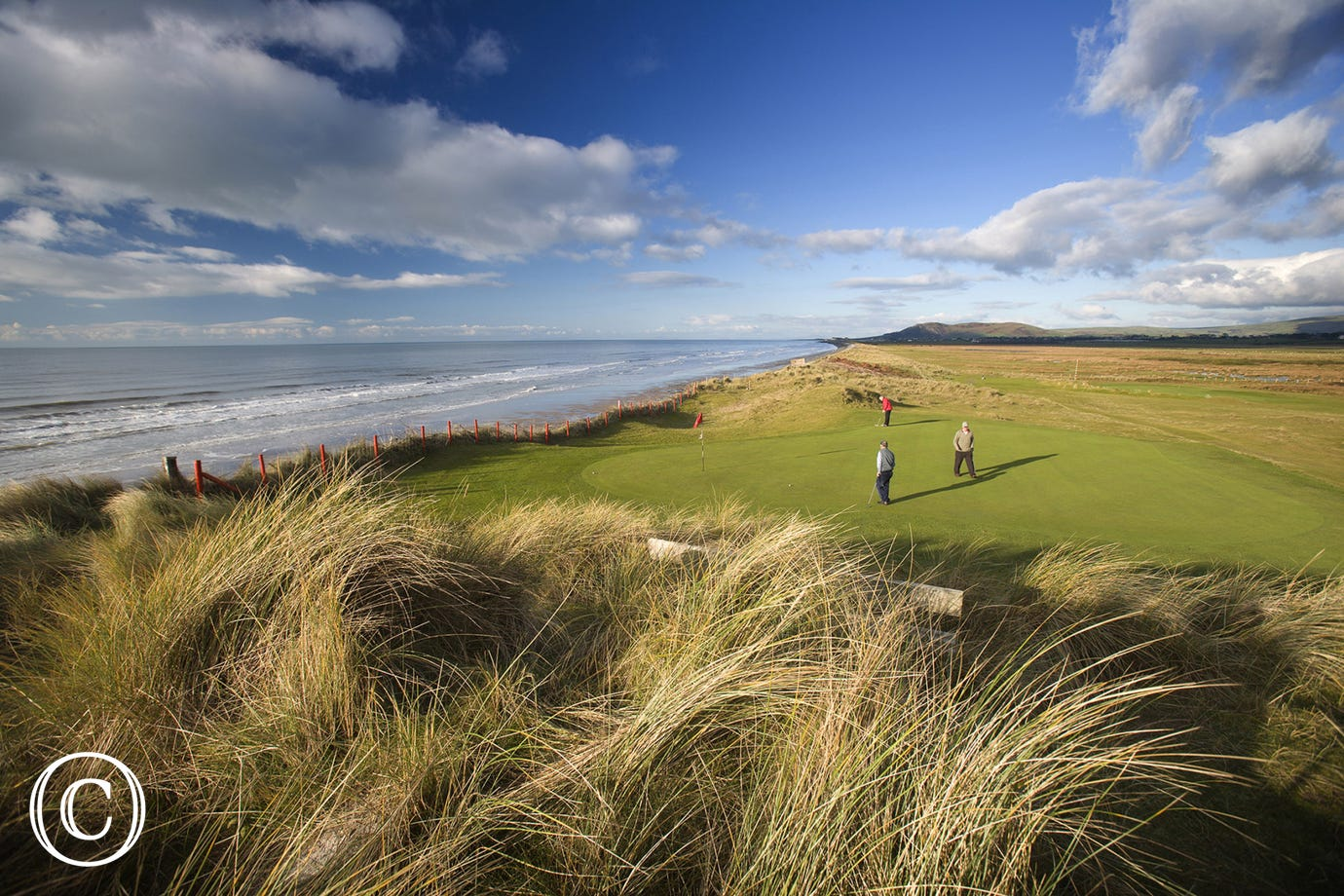 Aberdyfi Golf Club - an 18 hole golf course just 9 miles away