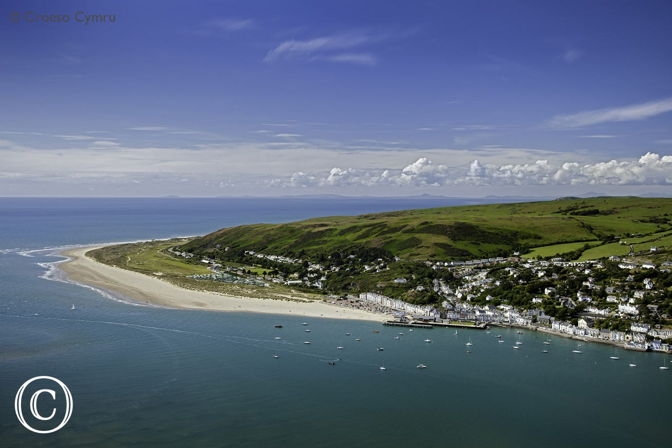 Follow the River Dyfi for 9 miles from the house to Aberdyfi and a fantastic beach