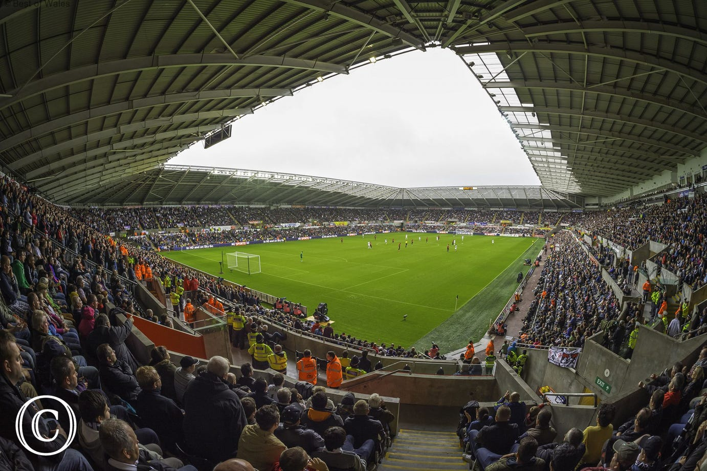 The Liberty Stadium in Swansea