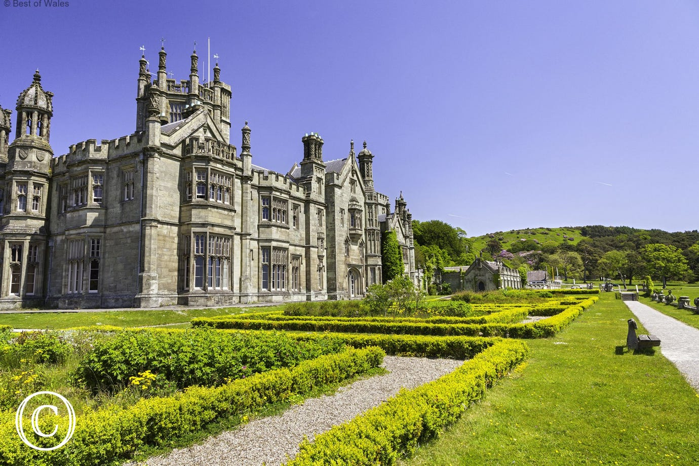 Margam Park is well worth a visit