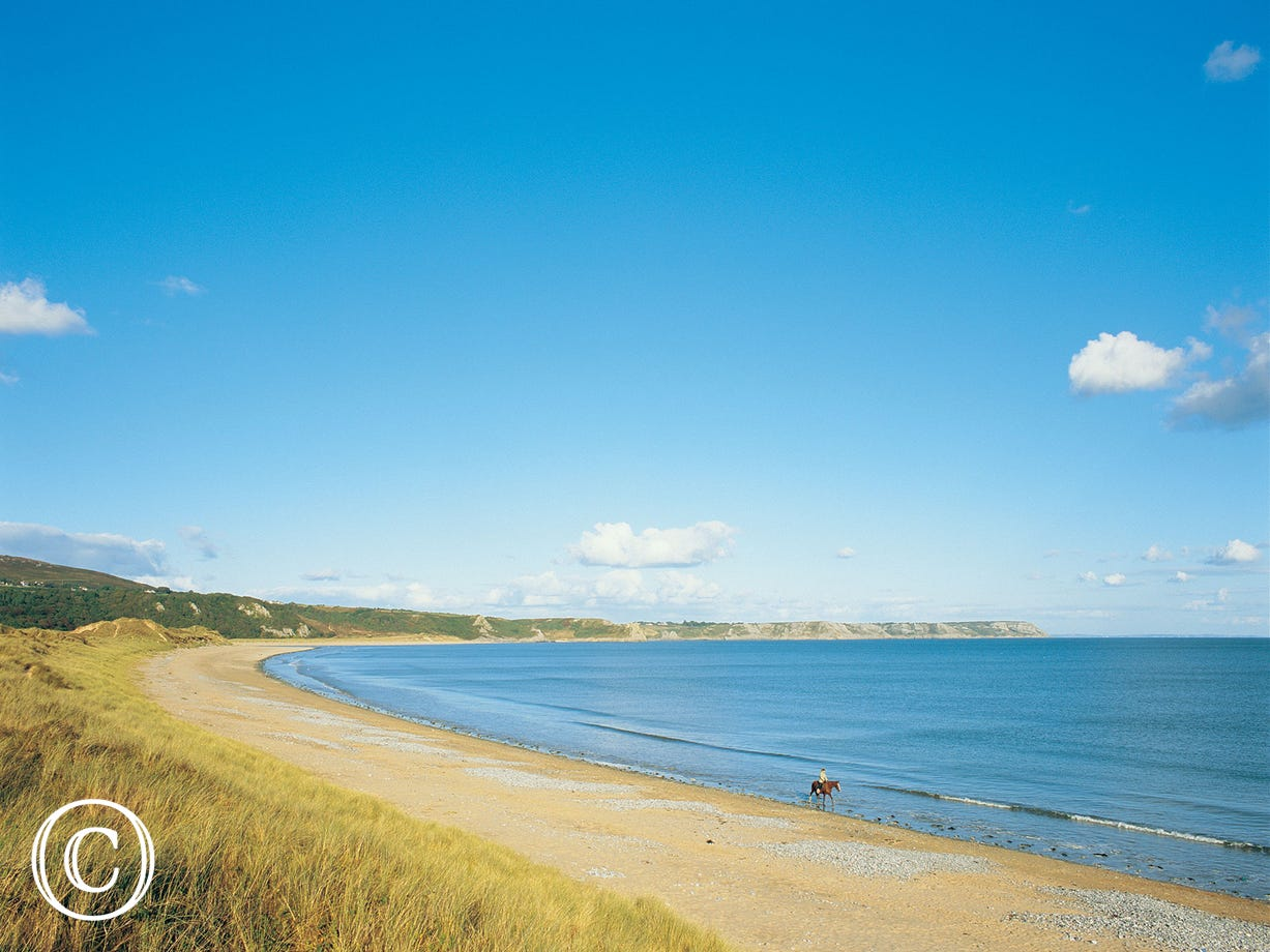 only a short drive to the beaches of Gower