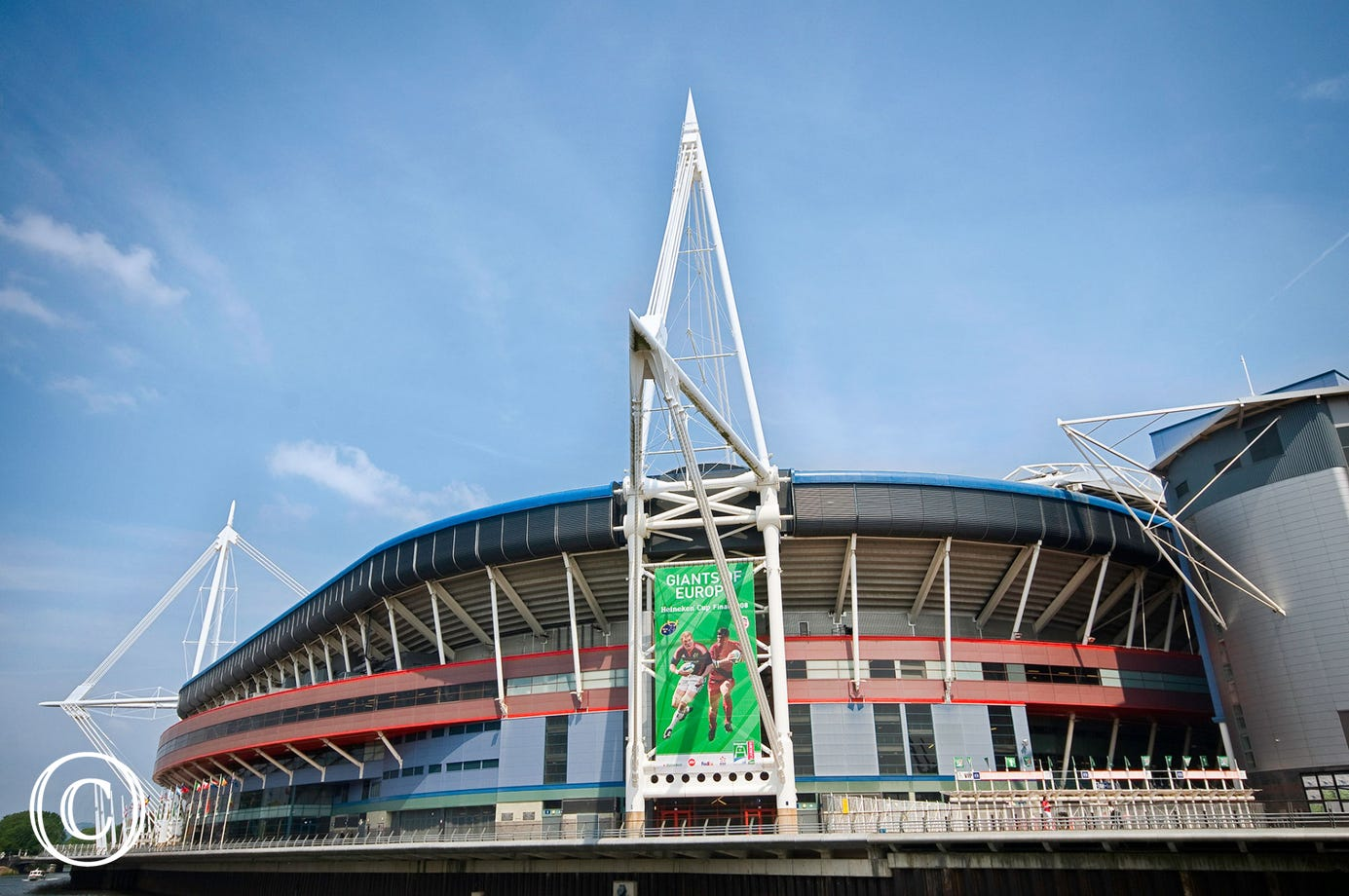 Principality Stadium is within walking distance