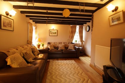 Welcoming lounge - perfect for a relaxing holiday in Conwy