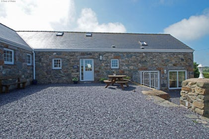One of 3 stunning cottages in a wonderful setting on the Llyn Peninsula